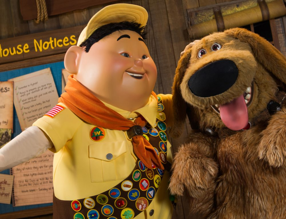 NEWS: New Show at Disney's Animal Kingdom to Feature Russell, Dug from Disney•Pixar's 'UP'